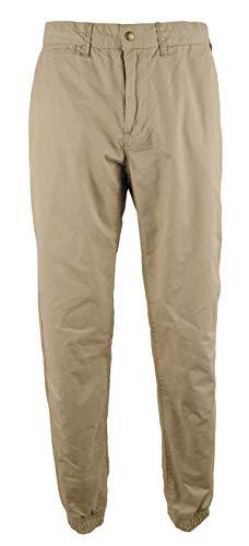 - Polo Ralph Lauren Men's Straight Fit Twill Jogger Pants-BK-36Wx34L