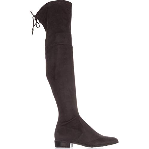 Fisher Fabric 2 Women's Boot Humor Marc Dk Grey Knee The Above 4I7dxq