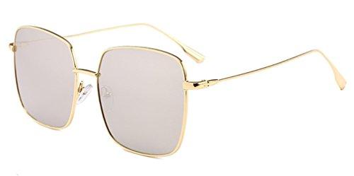 E Sol UV de Bloqueo Conducción de Alta Gran Gafas Anti Delgada de Definición Marco de Cara G Unisex MOQJ Luz Moda Gafas Cuadrada gq11A4