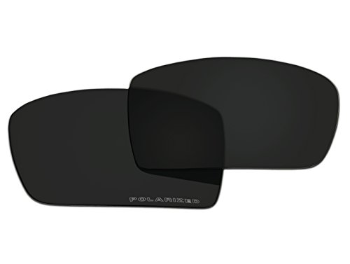 Polarized Replacement Sunglasses Lenses for Oakley Gascan with UV ()