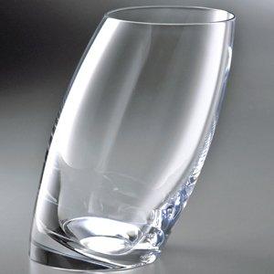 Nambe Crystal Tilt Highball Glasses Set/2 by Nambe