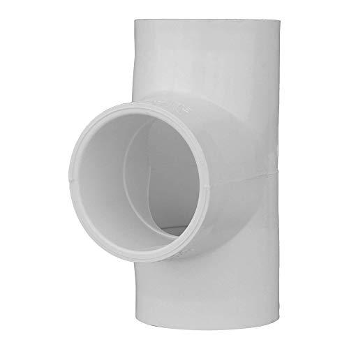 Charlotte Pipe 1 1/2 SCH 40 Tee Sxsxs PVC Pressure (Single Unit)