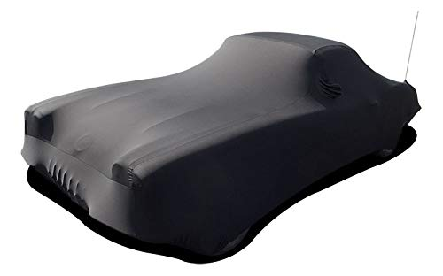 1953-1962 Corvette Car Cover, Onyx, Satin Indoor Black
