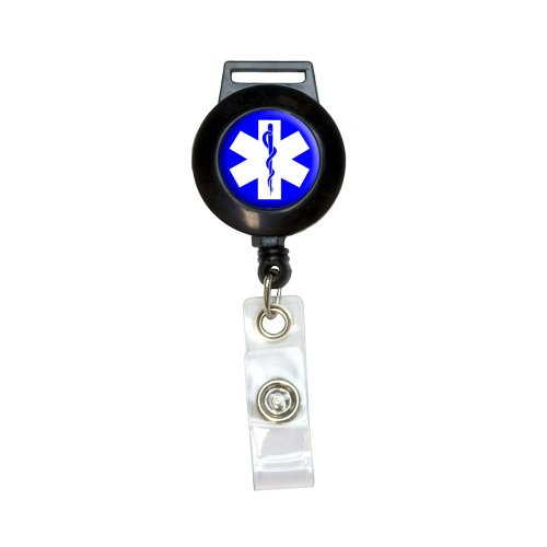 Star Retractable Badge Holder - 3