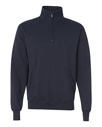 Navy 1/4 Zip Fleece - 1