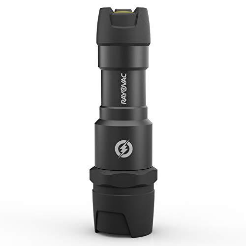 Rayovac Virtually Indestructible LED Flashlight, 300 Lumen Waterproof Tactical Flashlight - Super Bright High Mode LED Flashlights for Camping, Hiking, Dog walking ()