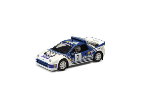 Scalextric C3407 Ford RS200 Haynes Slot Car, Scale 1:32