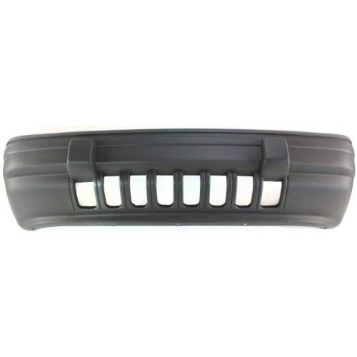 Front Bumper Cover Compatible with JEEP GRAND CHEROKEE 1993-1995 Textured Laredo Model ()