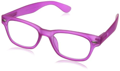 Peepers Style Six Pink Retro Reading Glasses, 1.50