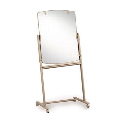 Quartet Total Erase Reversible Mobile Easel - 30quot; Width x 41quot; Height - Surface - Steel Frame - Film - 1 Each ()