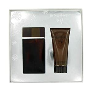 YSL M7 for Men LUXURY Gift SET EDT SPRAY 3.3 FL OZ (100 ml), All OVER SHOWER GEL 3.3 FL OZ (100 ml)