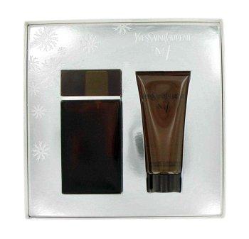YSL M7 for Men LUXURY Gift SET EDT SPRAY 3.3 FL OZ (100 ml), All OVER SHOWER GEL 3.3 FL OZ (100 ml)