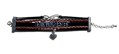 Show & Shine Supernatural Infinity Love Dean Winchester Multi Strands Layer Charm Bracelet by Show & Shine (Image #1)