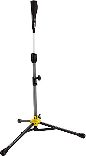SKLZ Travel Tee DLX - Batting Tee with Durable Tripod Base and Dual Wrapped Rubber Tee Top for Baseball or Softball by SKLZ