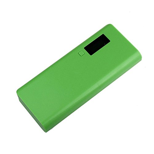 Damark 5V 2A USB 18650 Power Bank Battery Box Charger For iphone6 Note4 (Green)