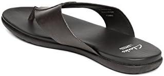 15faae3fc12 Clarks Men Coffee Brown Leather Valor Beach Sandals (8UK)  Buy ...
