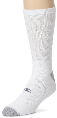 Champion Men's 6 Pack Crew Socks by Champion Men's Underwear