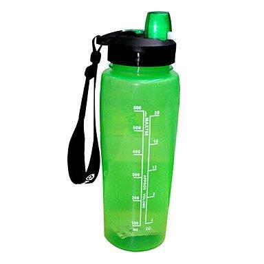 Hydraknight pp 750ml botella de agua de la bicicleta verde: Amazon ...