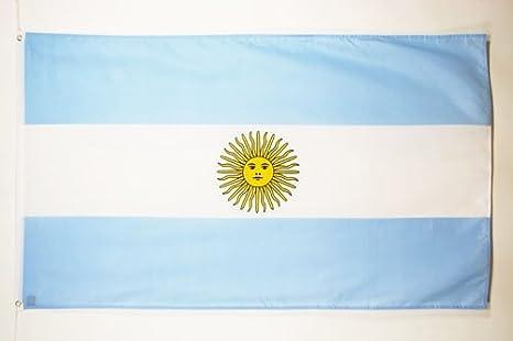 AZ FLAG Bandera de Argentina 150x90cm - Bandera Argentina 90 x 150 cm: Amazon.es: Jardín