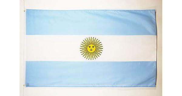 Amazon.com: Bandera de Argentina Bandera de 2 x 3 ...