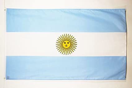 BANDERA de ARGENTINA 150x90cm - BANDERA ARGENTINA 90 x 150 cm - AZ FLAG