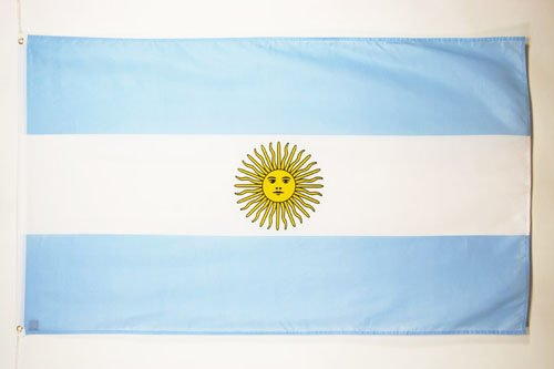 AZ FLAG Argentina Flag 5' x 8' - Argentine Big Flags 150 x 250 cm - Banner 5x8 ft