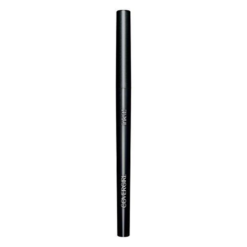 COVERGIRL Ink It! By Perfect Point Plus Waterproof Eyeliner, 1 Pencil, Black Ink Color, Long Lasting Waterproof Eyeliner