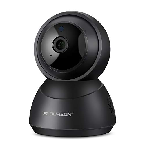 FLOUREON YI Cloud Wireless Camera 1080P HD WiFi IP Dome Camera Pan/Tilt  Indoor Surveillance Baby Monitor with Smart Tracking Night Vision Two Way