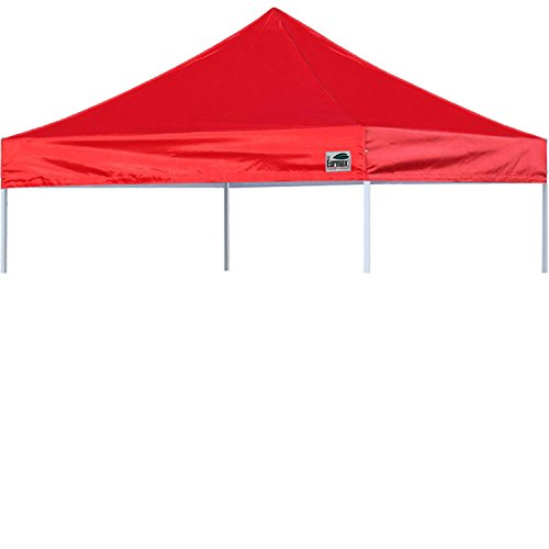Eurmax New Pop Up 10X10 Replacement Instant Ez Canopy Top Cover (Red)