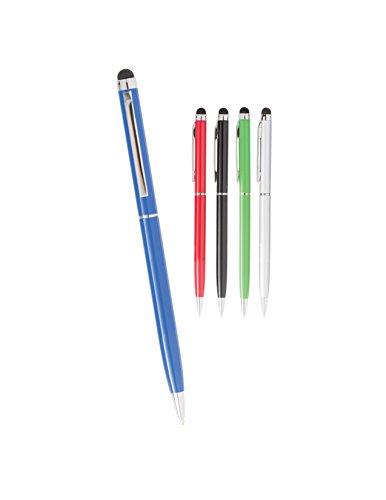 Wholesale bulk stylus twist action metal pen by SE ROSE mr-4620 (12 pack, ()