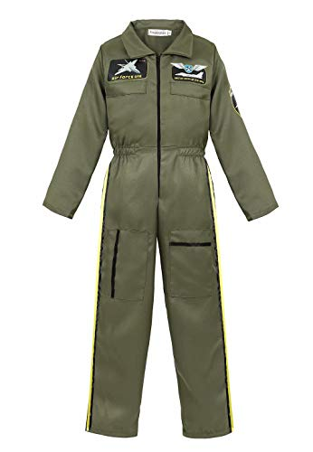 Flight Of Fancy Costumes - Flight Suit Costume Kids Air Force