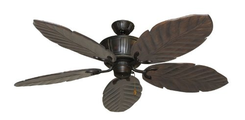 Centurion Tropical Ceiling Fan in Oil Rubbed Bronze with 58