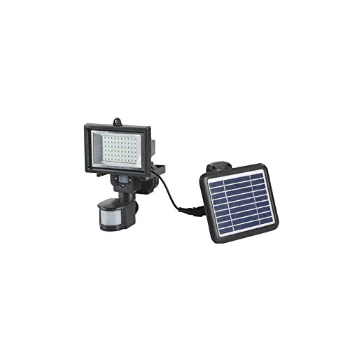 PuntoEnergia Italia - Spotlight Fotovoltaica sensor solar accionado 330 lumen LED Motion - SE-PIR-15: Amazon.es: Bricolaje y herramientas