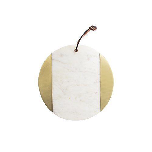 American Atelier 1810035 Marble Cutting Board, White
