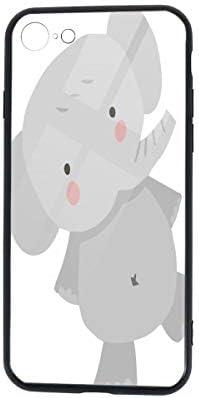 Iphone 7/8 Tpuガラス電話ケース 落下防止 傷なし