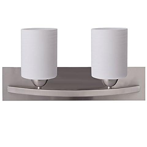 Wall Sconce Modern Pendant Lampshade Fixture Vanity Metal Bathroom New 2 Light Glass - Maple Three Pendant Light