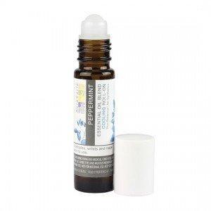 Aura Cacia Oil Roll On, Peppermint, 0.31 Fluid Ounce