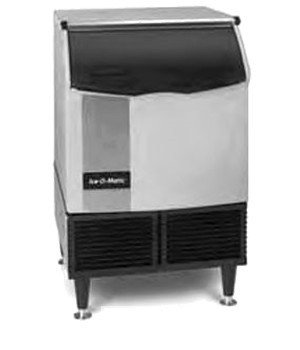 Ice-O-Matic ICEU150HA Air Cooled 185 Lb Half Cube Undercounter Ice (Self Contained Refrigeration)