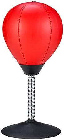 パンチングボール デスクトップパンチングスピードバッグ/ボールストレスオフィスのための救済バスターおもちゃ - 演習のためにストレス&グッドを和らげ (色 : As picture, サイズ : ワンサイズ)
