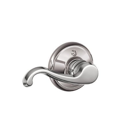 Schlage F170 Callington Left Hand Half Dummy Bright Chrome Finish - Left Hand Callington Lever