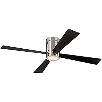 lowes led ceiling fan lights bulbs this item revue brushed nickel with light and remote price