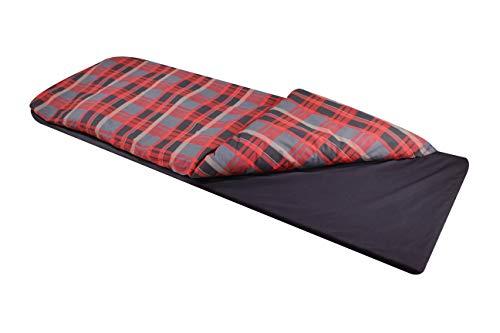 Disc-O-Bed Duvalay Large Lumberjack, Red-Black Pattern