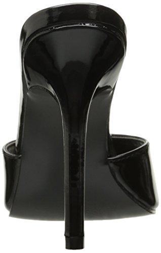 Pleaser womens Clas01/B Black Patent nt8adCwa