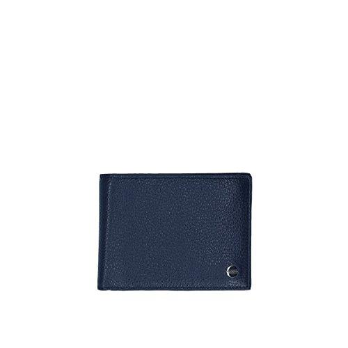 Borbonese wallet with cardholder Blue