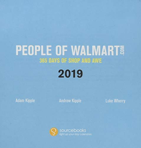 2019 People of Walmart Boxed Calendar: 365 Days of Shop and Awe