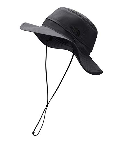 c492c1c59f1 The North Face Unisex Horizon Breeze Brimmer Hat Asphalt Grey TNF Black  LG XL