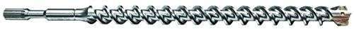 Century Drill & Tool 83917 Spline 4-Cutter Masonry Drill Bit, 1-1/4
