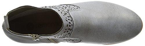 Remonte R4874 Damen Chelsea Boots Grau (whitetitan/grey / 90)