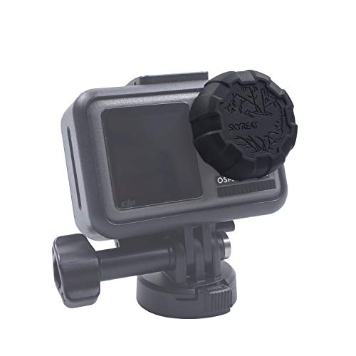Skyreat Soft Plastic Lens Cover Accessories Lens Cap Protector for DJI Osmo Action Cam
