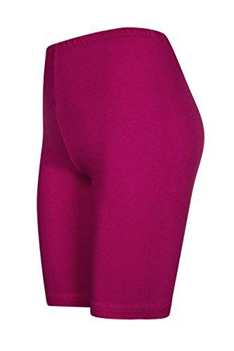 ginocchio 16 pantaloncini pantaloncini da con sopra Fucsia colori hot Pack Rosa 2 pants calzoncini wvEAInnqd